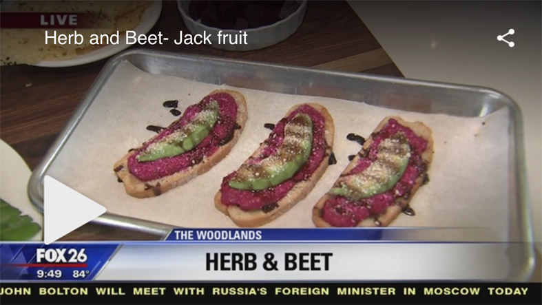 Check out our segment about jackfruit on Fox News here.